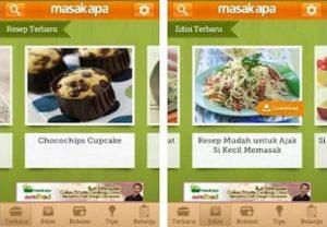 Aplikasi Resep Masakan yang bisa di manfaatkan dengan baik