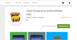Most Expensive Android Wear App