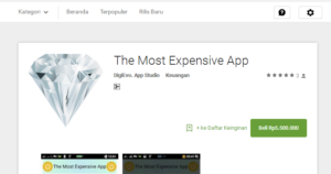 The Most Expendive App 2